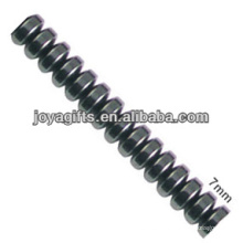 Natural high quality 7MM hematite slice loose beads for jewelry making
